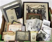 mid 20th c photographs, snapshots, WWII ephemera