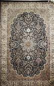 mid 20th c Persian Tabriz area rug