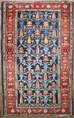 early 20th c Persian Bakhtiari area rug