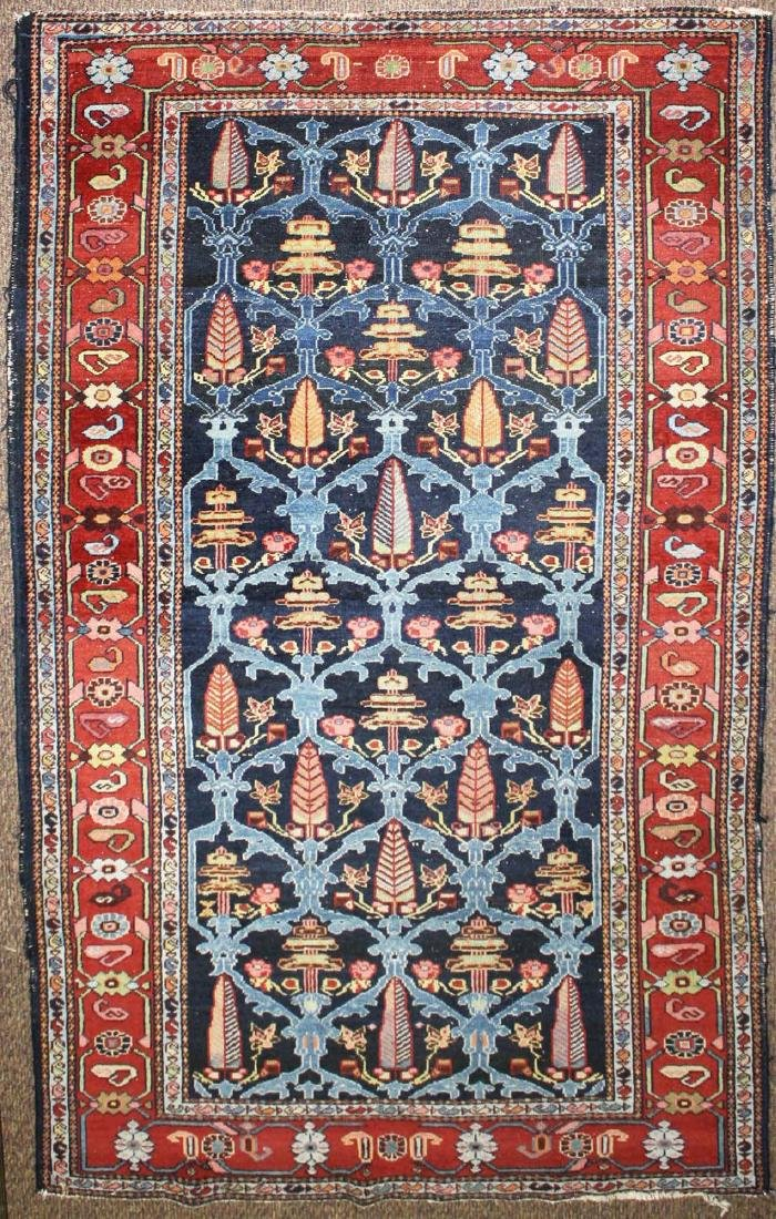 early 20th c Persian Bakhtiari area rug