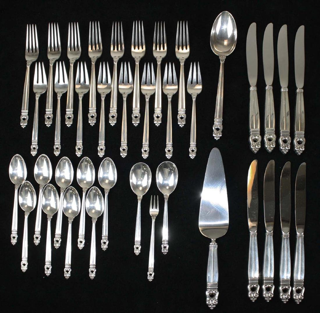 International Royal Danish sterling flatware