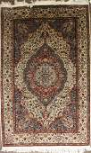 mid 20th c Persian Tabriz medallion design area rug