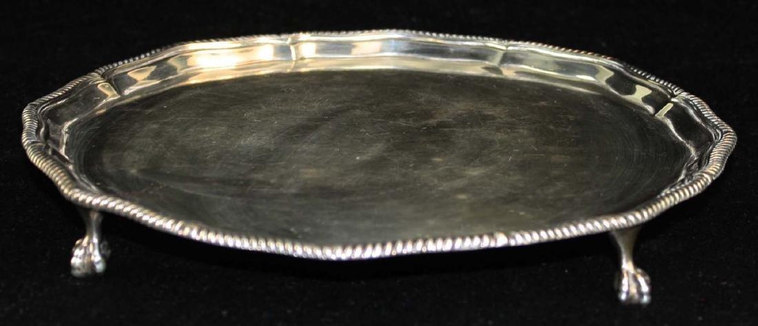 1908 Sheffield  sterling silver salver