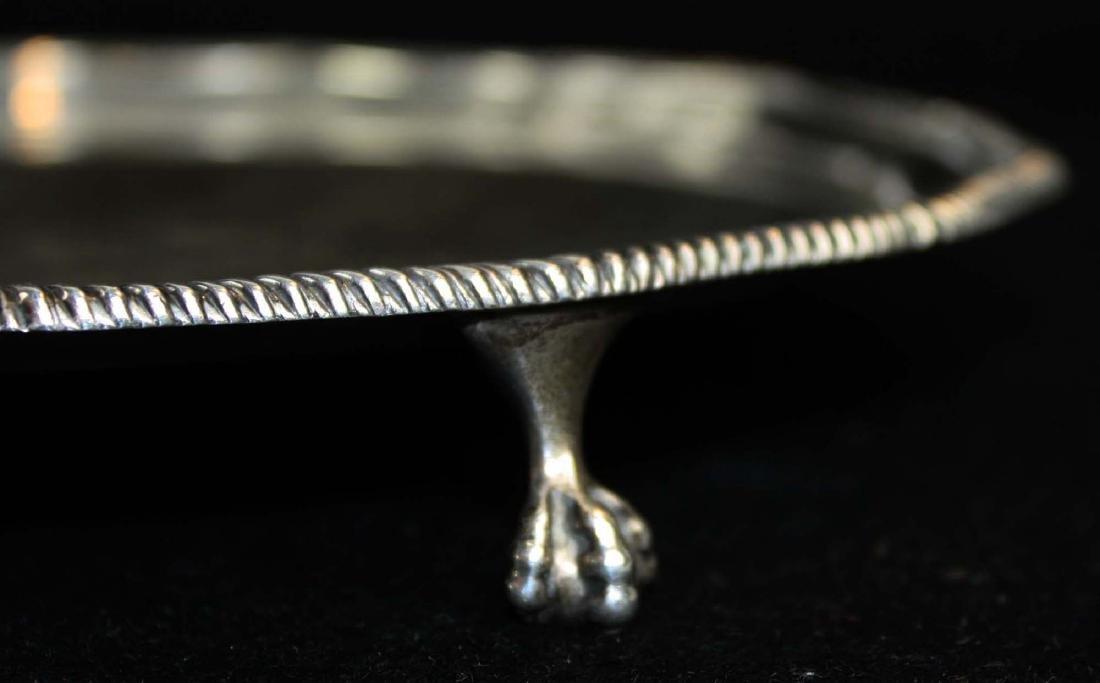 1908 Sheffield  sterling silver salver - 5