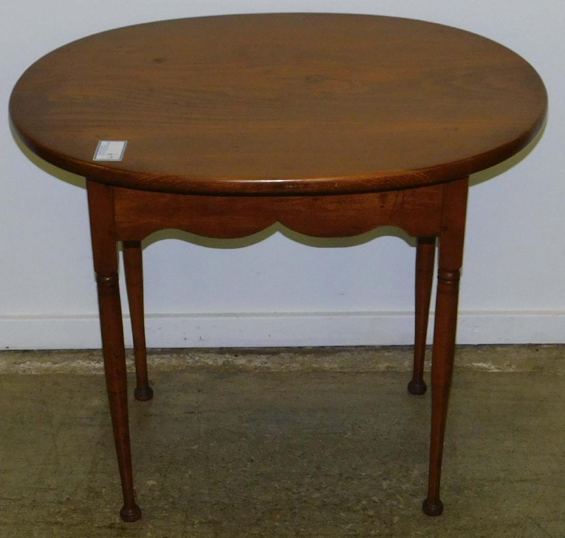 Queen Anne maple tea table