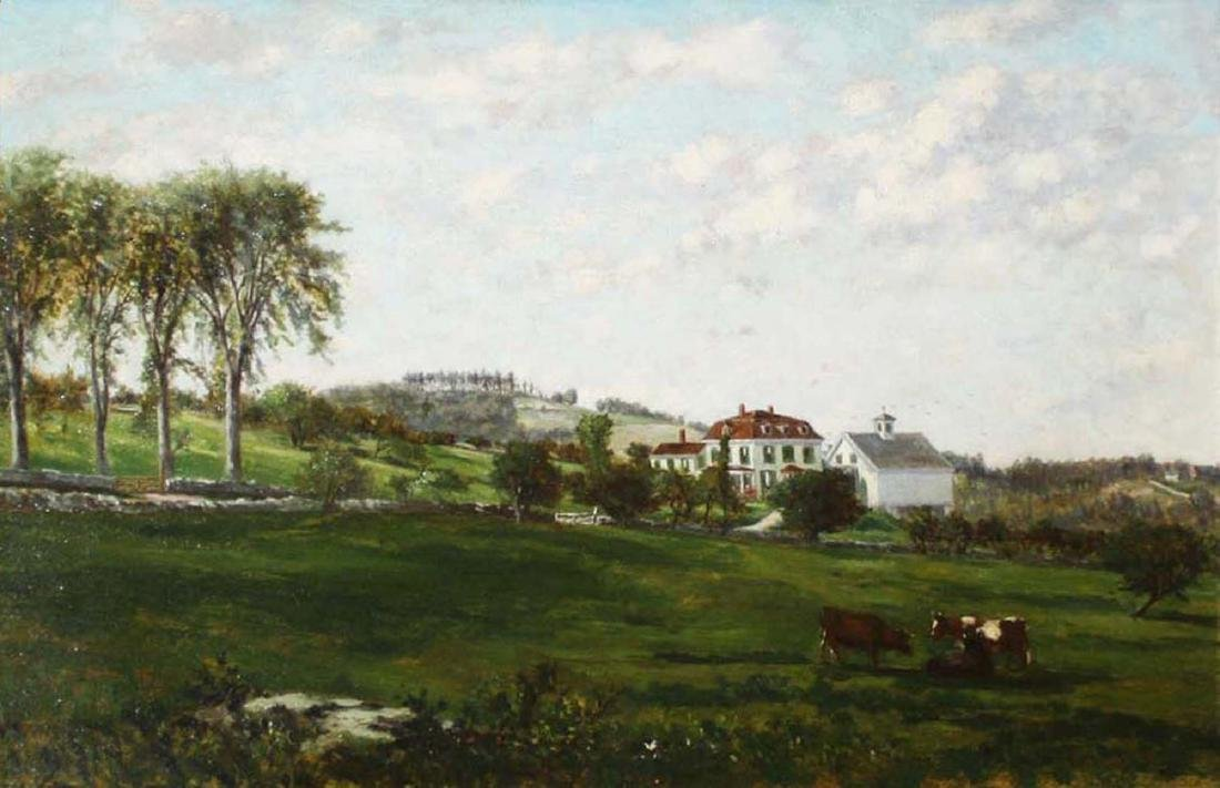 Francis Henry Shapleigh (NH 1842-1906) A Country Estate - 2