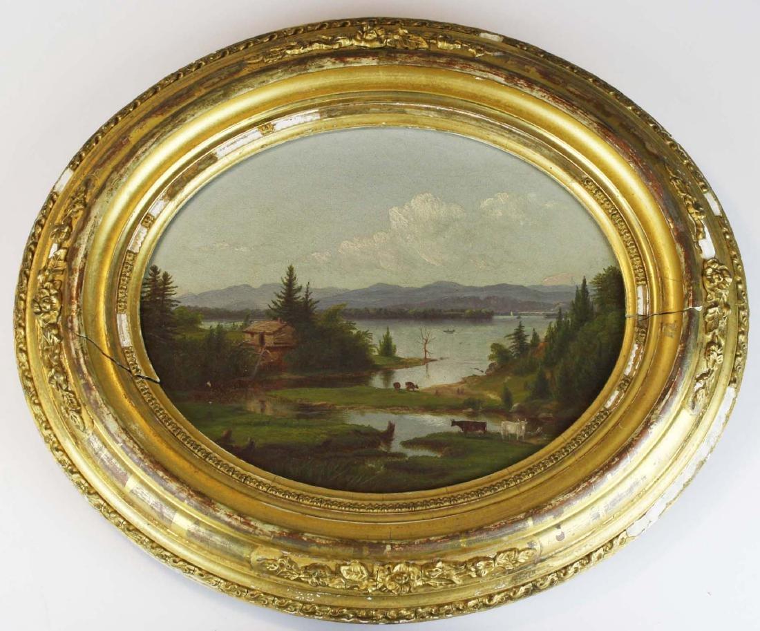 Charles Louis Heyde (VT 1822-1892) Potash Brook South