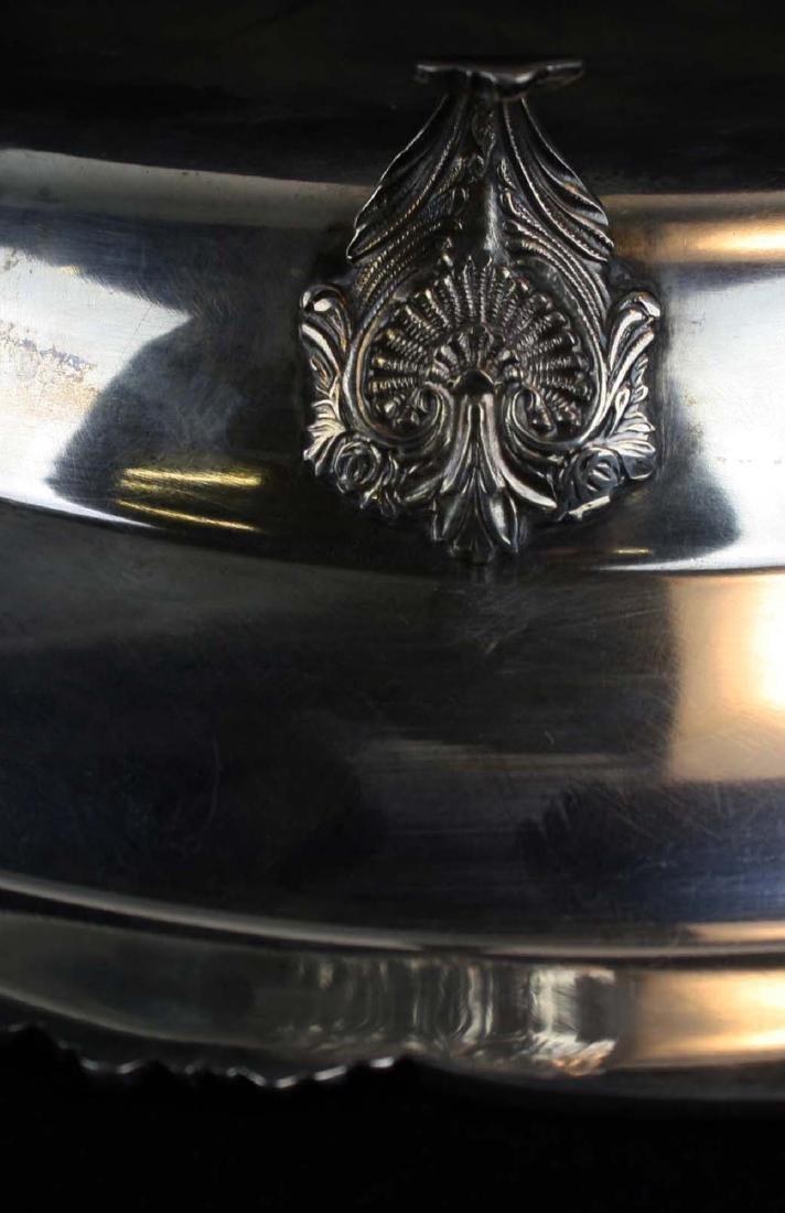 Peruvian sterling silver centerpiece bowl - 4