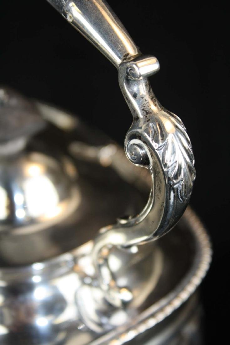 London sterling Georgian kettle on stand - 5