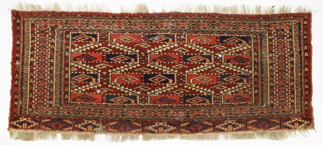 late 19th- early 20th c Tekke bag face