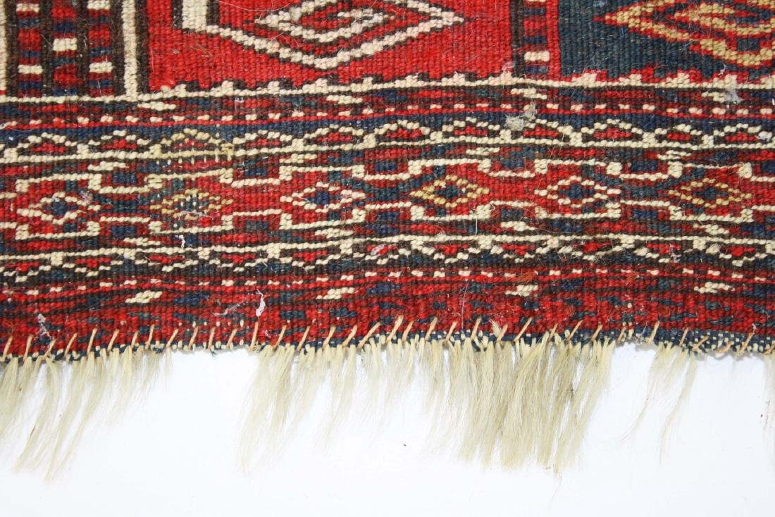 late 19th- early 20th c Tekke bag face - 5