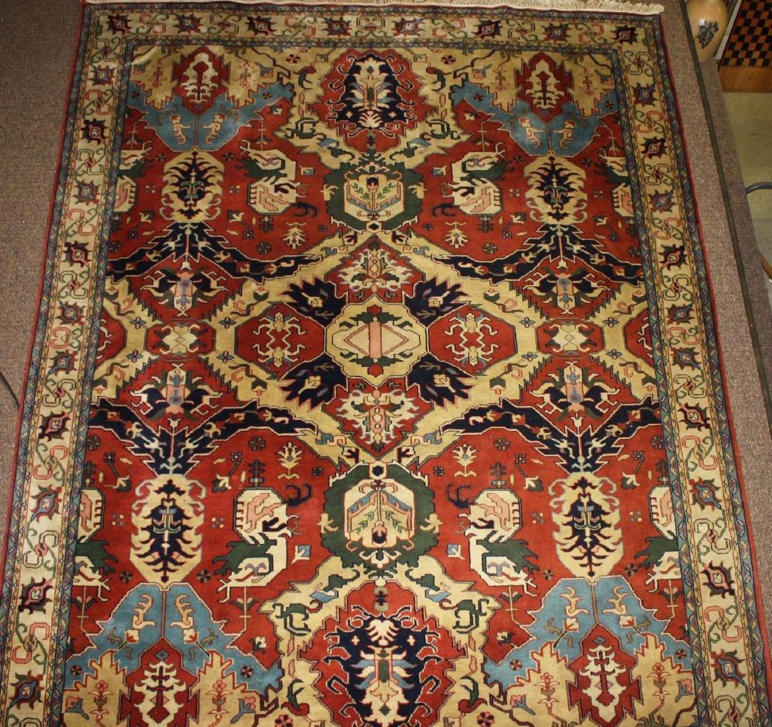 late 20th c Heriz main carpet - 5