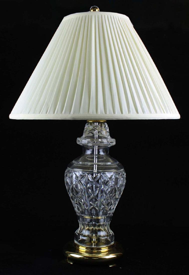 Of late 20th c signed waterford crystal table lamps pr of late 20th c signed waterford crystal table lamps geotapseo Images