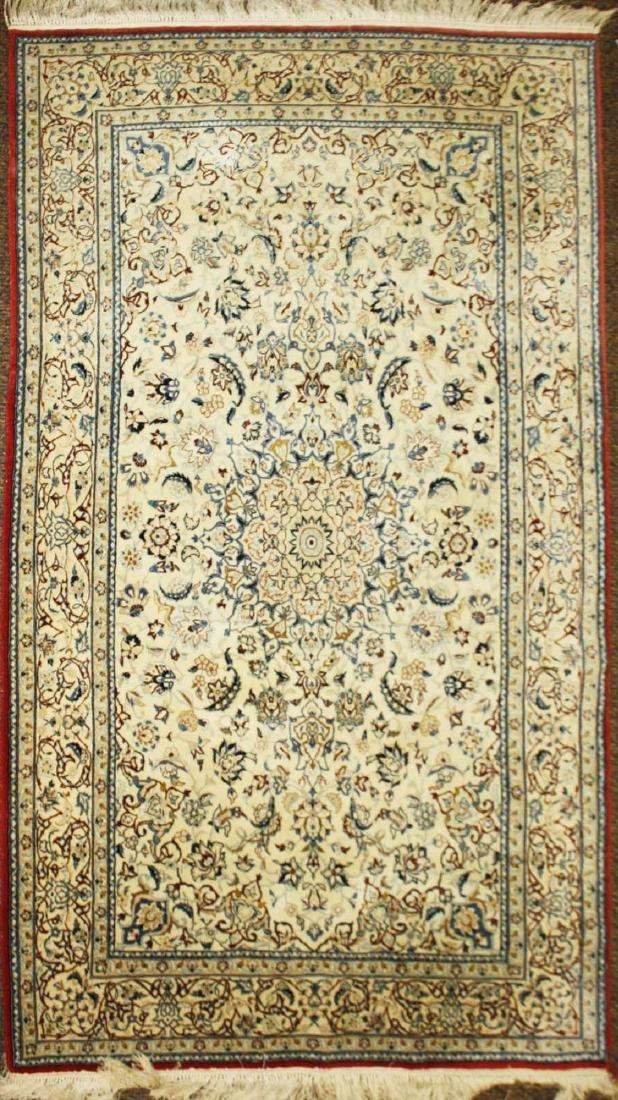 mid 20th c Persian Tabriz medallion design area rug