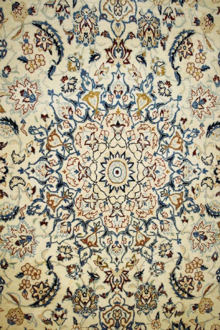 mid 20th c Persian Tabriz medallion design area rug - 2