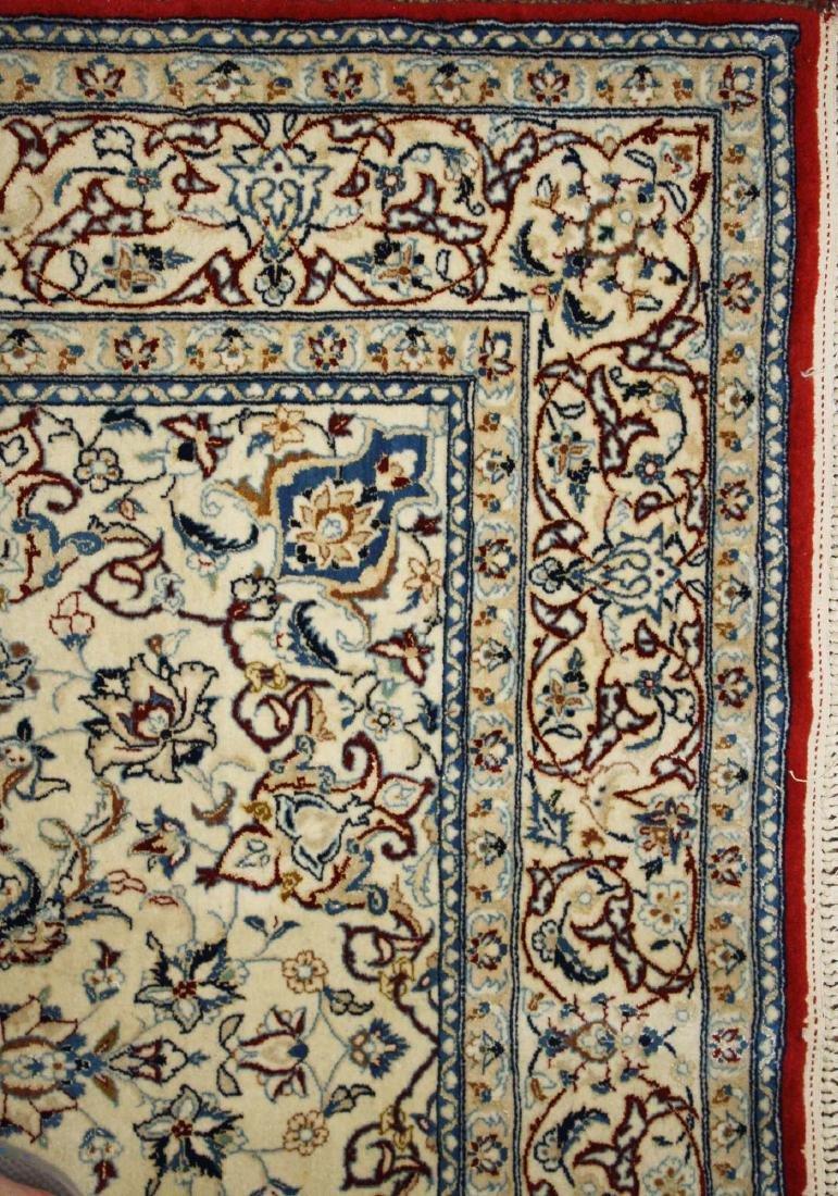 mid 20th c Persian Tabriz medallion design area rug - 3
