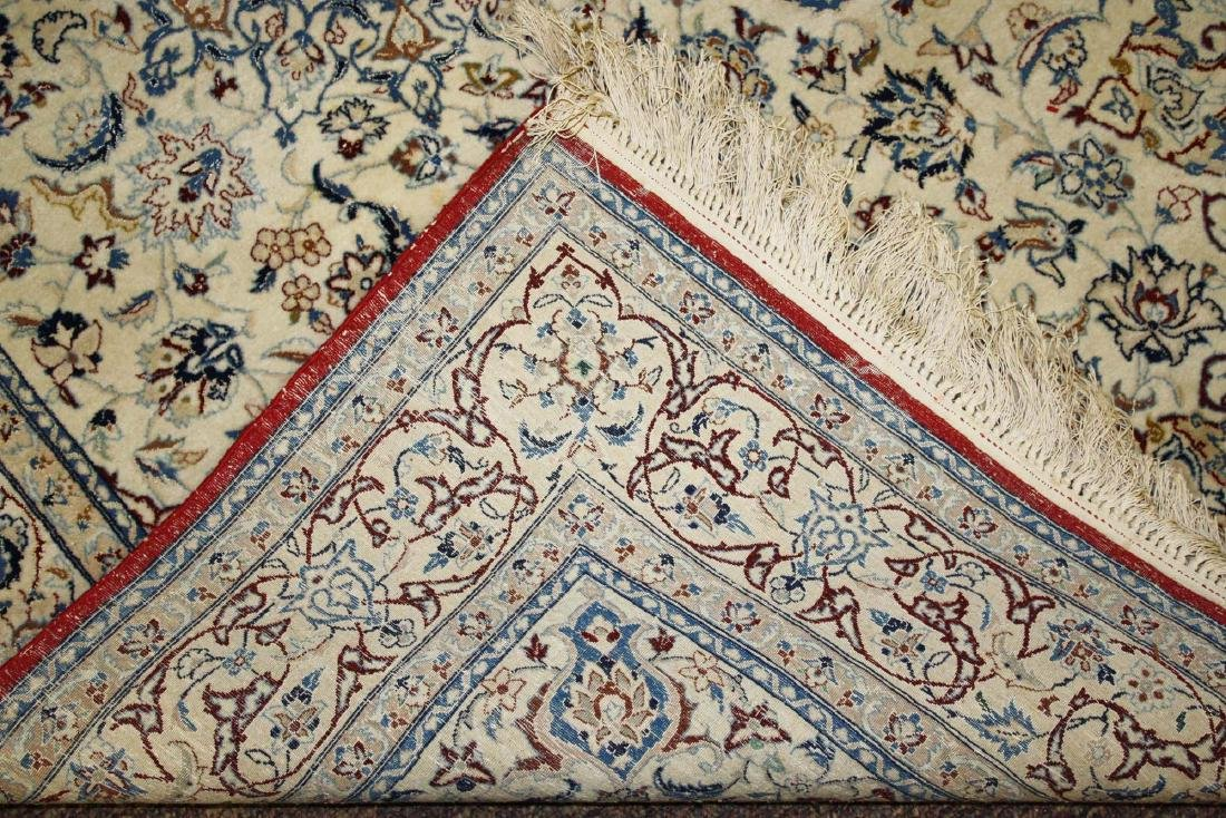 mid 20th c Persian Tabriz medallion design area rug - 4