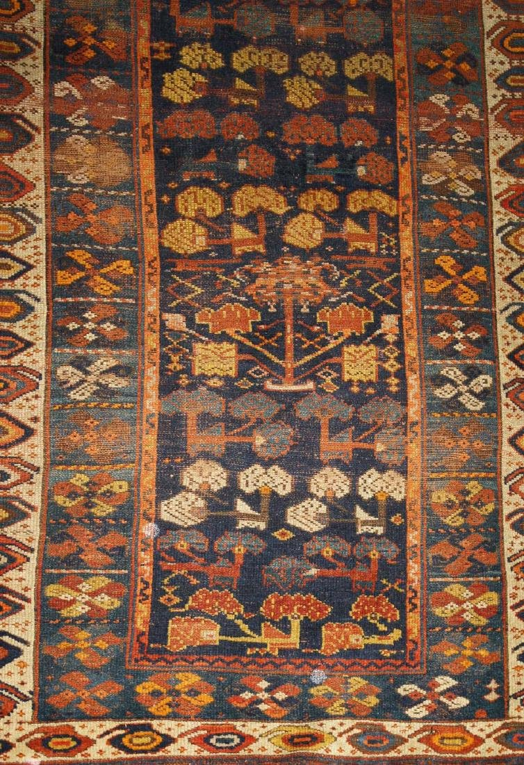 early 20th c Kurdish all wool runner - 2