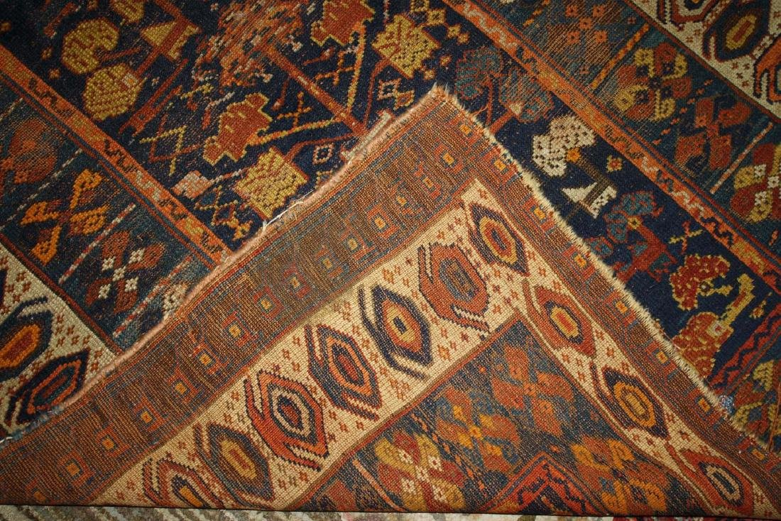 early 20th c Kurdish all wool runner - 3