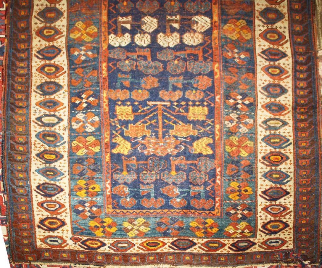 early 20th c Kurdish all wool runner - 5