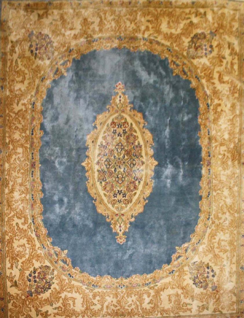 mid 20th c Kerman American design main carpet