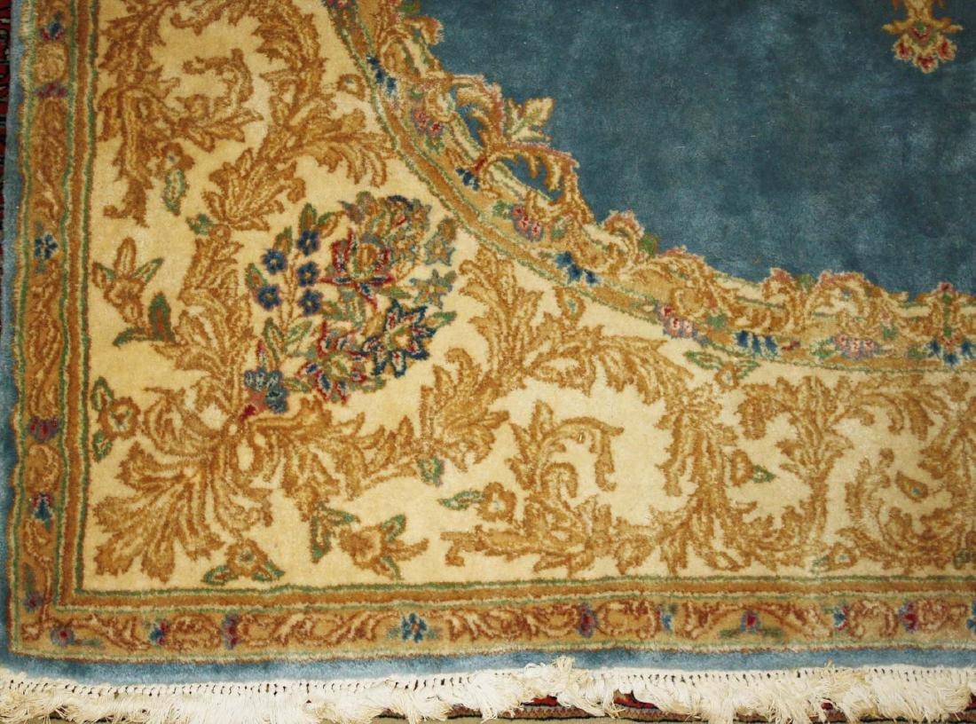 mid 20th c Kerman American design main carpet - 2