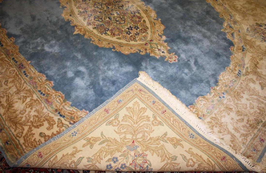 mid 20th c Kerman American design main carpet - 3