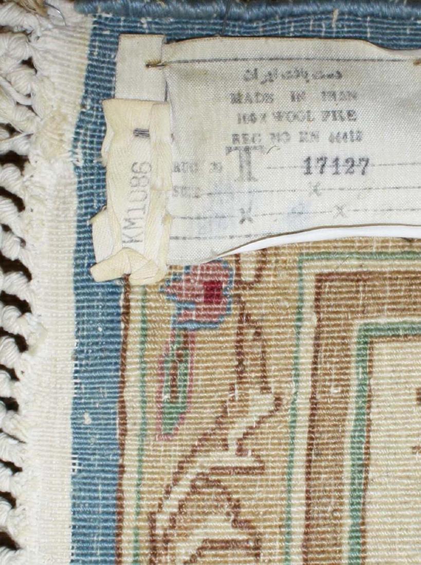 mid 20th c Kerman American design main carpet - 4