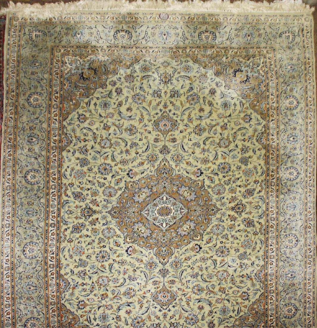 mid 20th c Persian signed Tabriz main carpet - 2