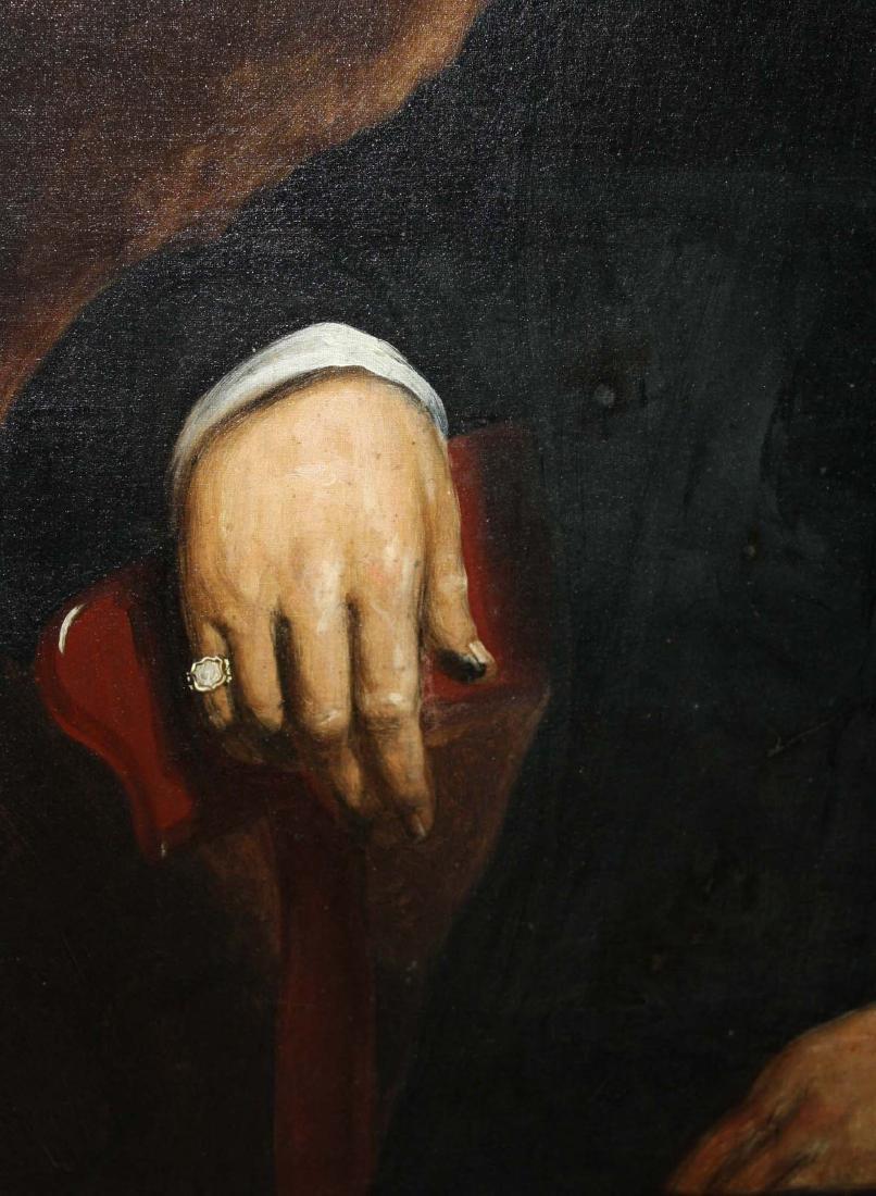 Circa 1860 American School Portrait of a Gentleman - 3