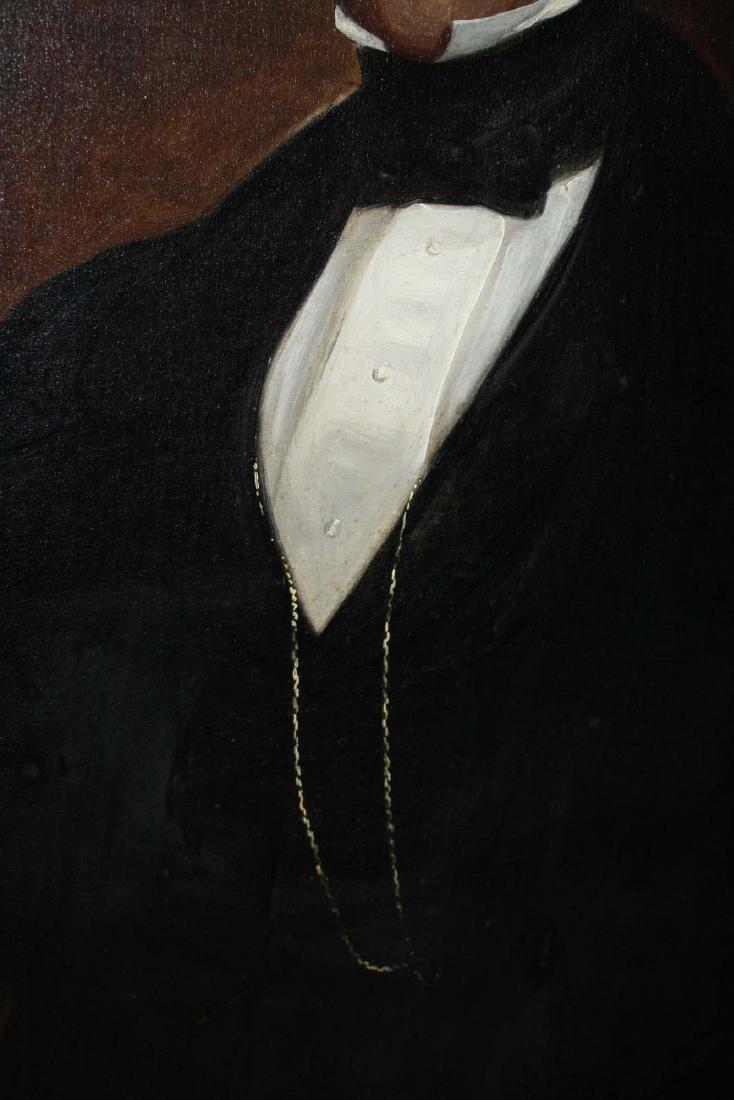 Circa 1860 American School Portrait of a Gentleman - 4