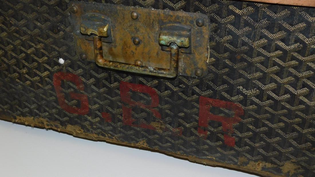 Malles Goyard Paris trunk - 2