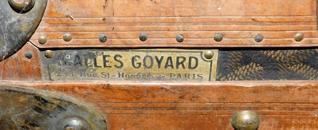 Malles Goyard Paris trunk - 3
