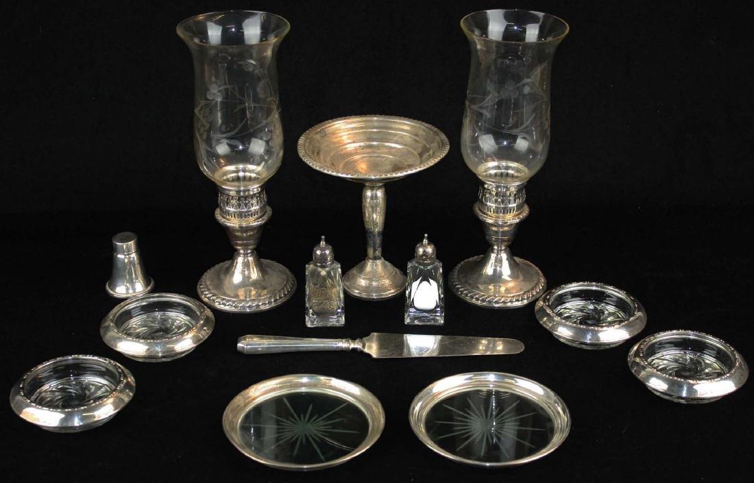 13 pcs sterling silver tableware
