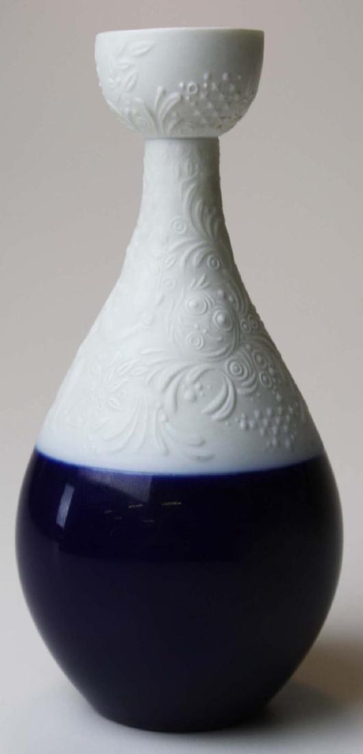 scarce Rosenthal Wiinblad blue Magic Flute candlestick - 3
