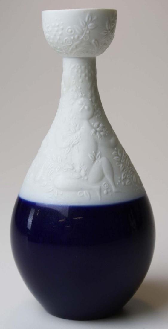 scarce Rosenthal Wiinblad blue Magic Flute candlestick - 4