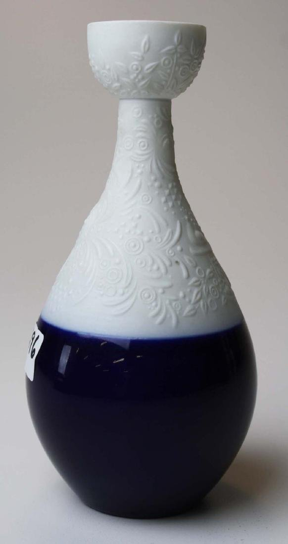 scarce Rosenthal Wiinblad blue Magic Flute candlestick - 5
