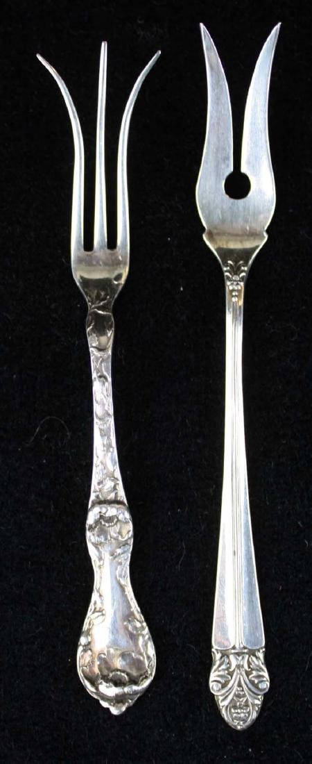 12 pcs assorted sterling silver flatware - 4