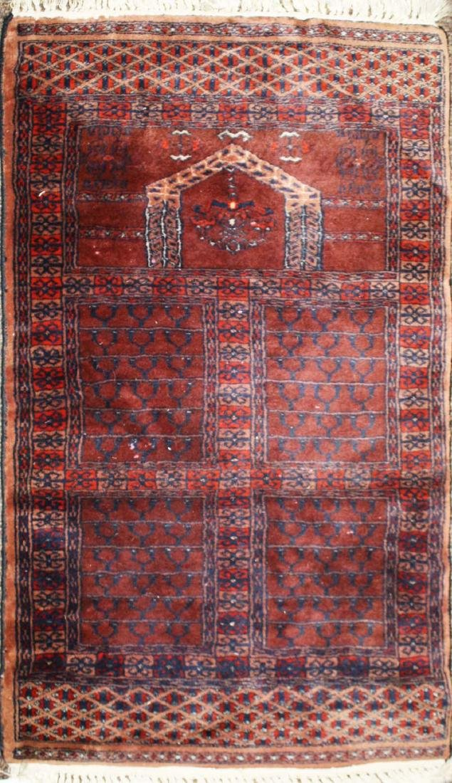 late 20th c Tekke prayer rug