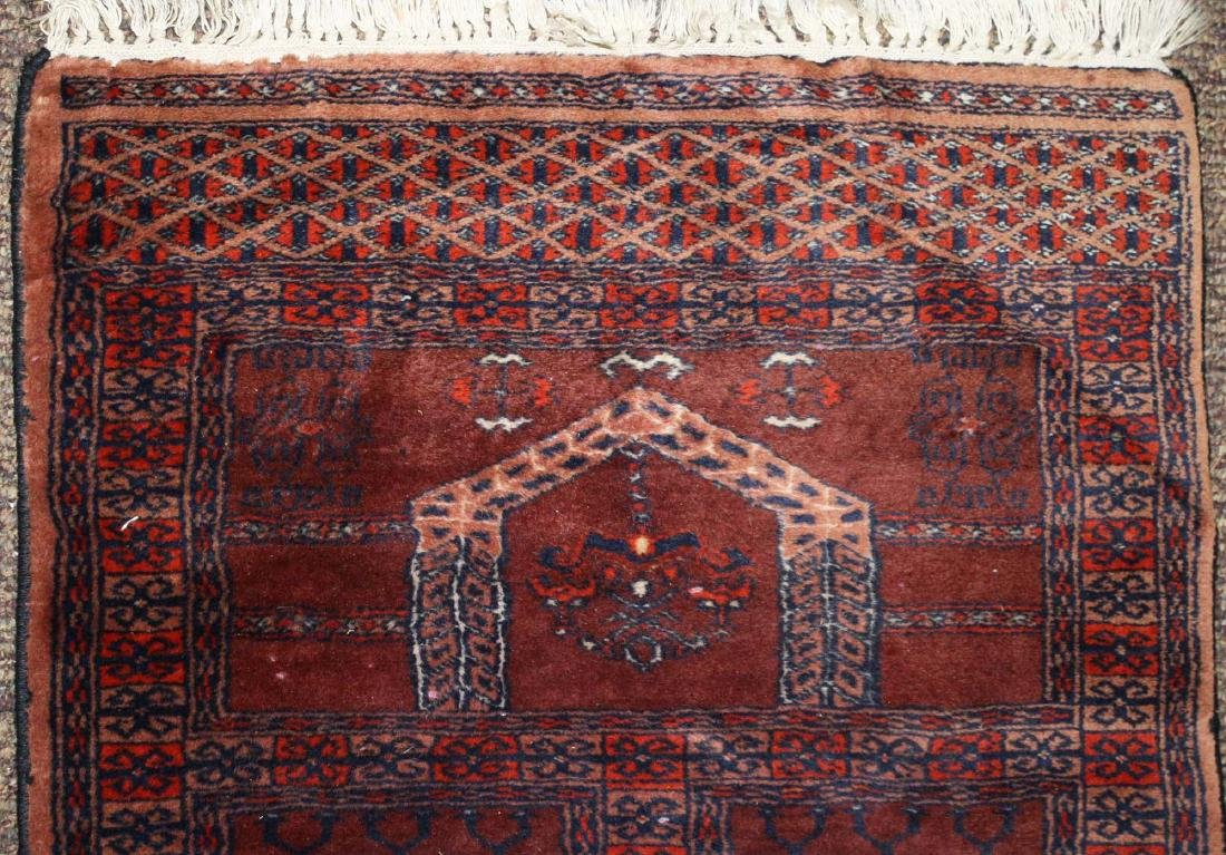 late 20th c Tekke prayer rug - 2