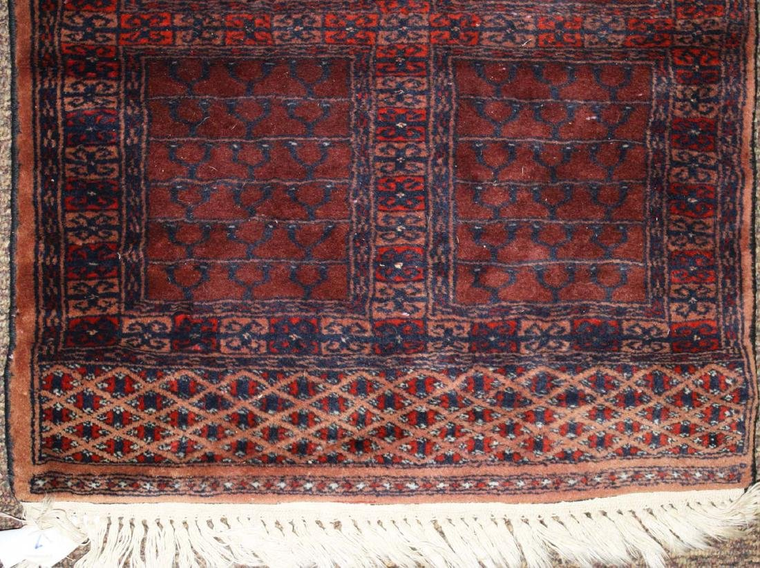 late 20th c Tekke prayer rug - 3