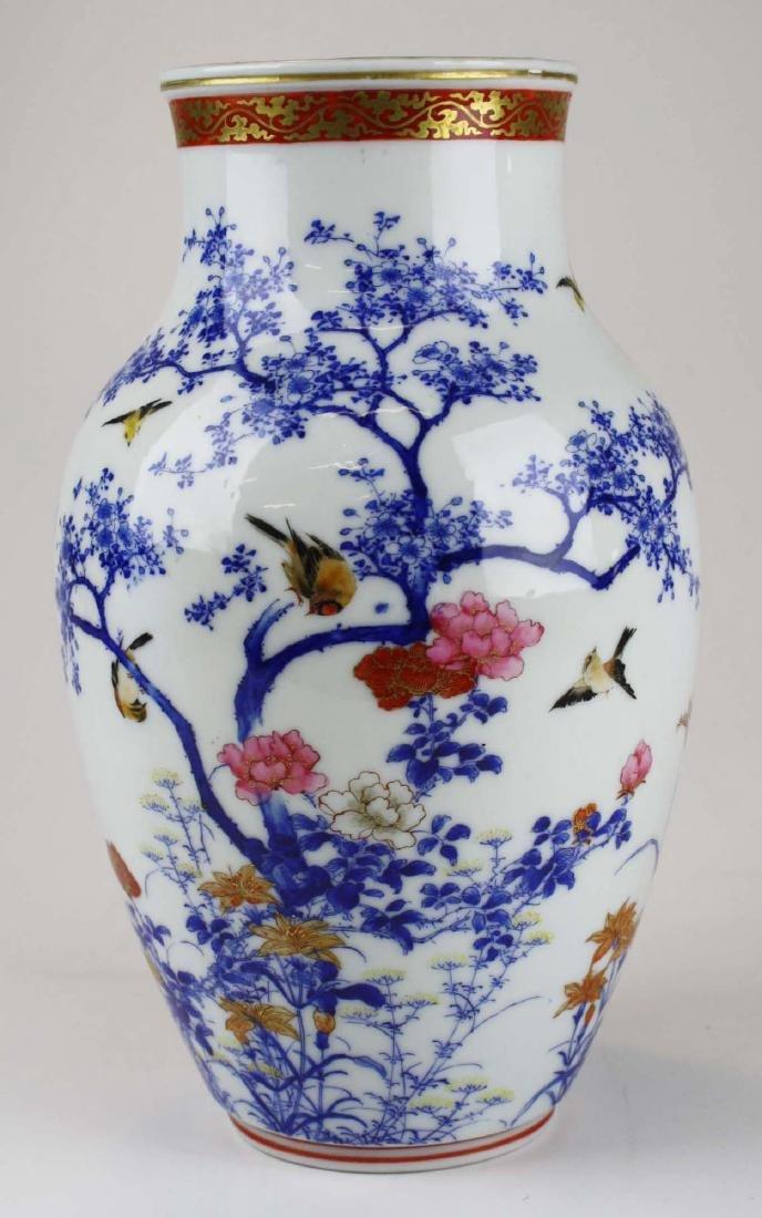 ca 1910-1920 Japanese Seto porcelain vase