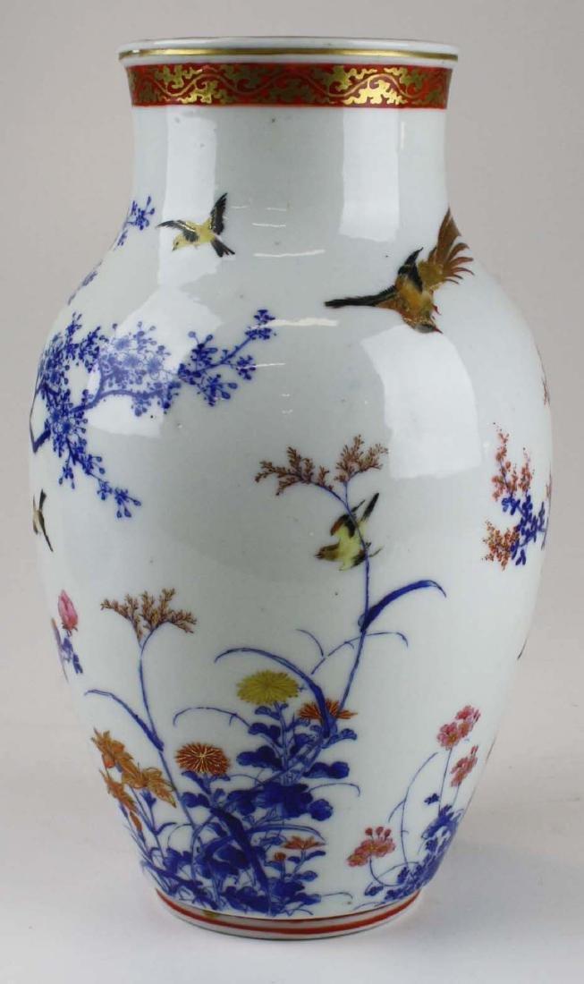 ca 1910-1920 Japanese Seto porcelain vase - 3