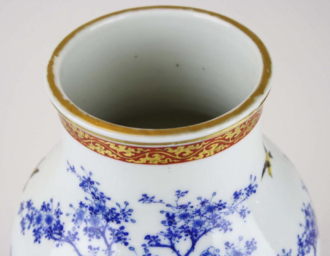 ca 1910-1920 Japanese Seto porcelain vase - 6