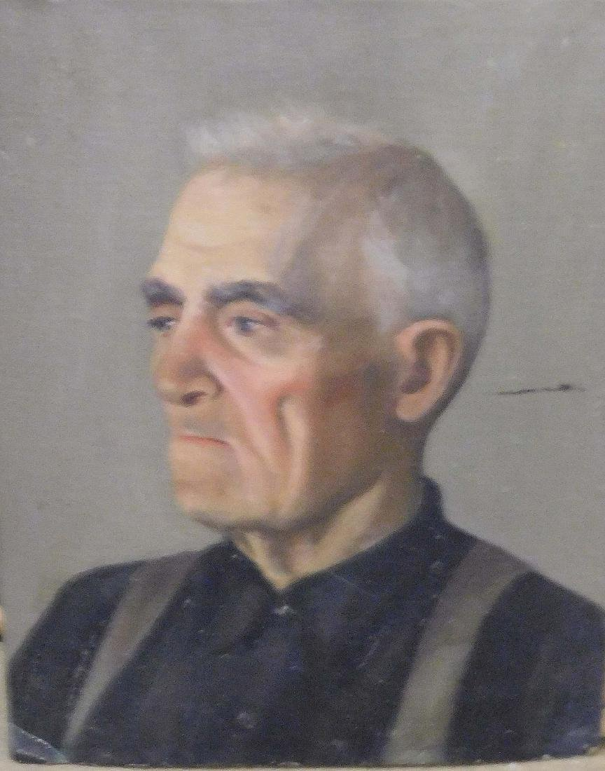 Katherine Worcester (VT 20thc) Four portraits - 2