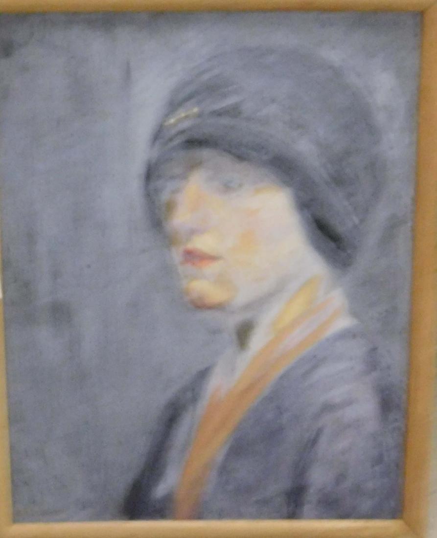 Katherine Worcester (VT 20thc) Four portraits - 3