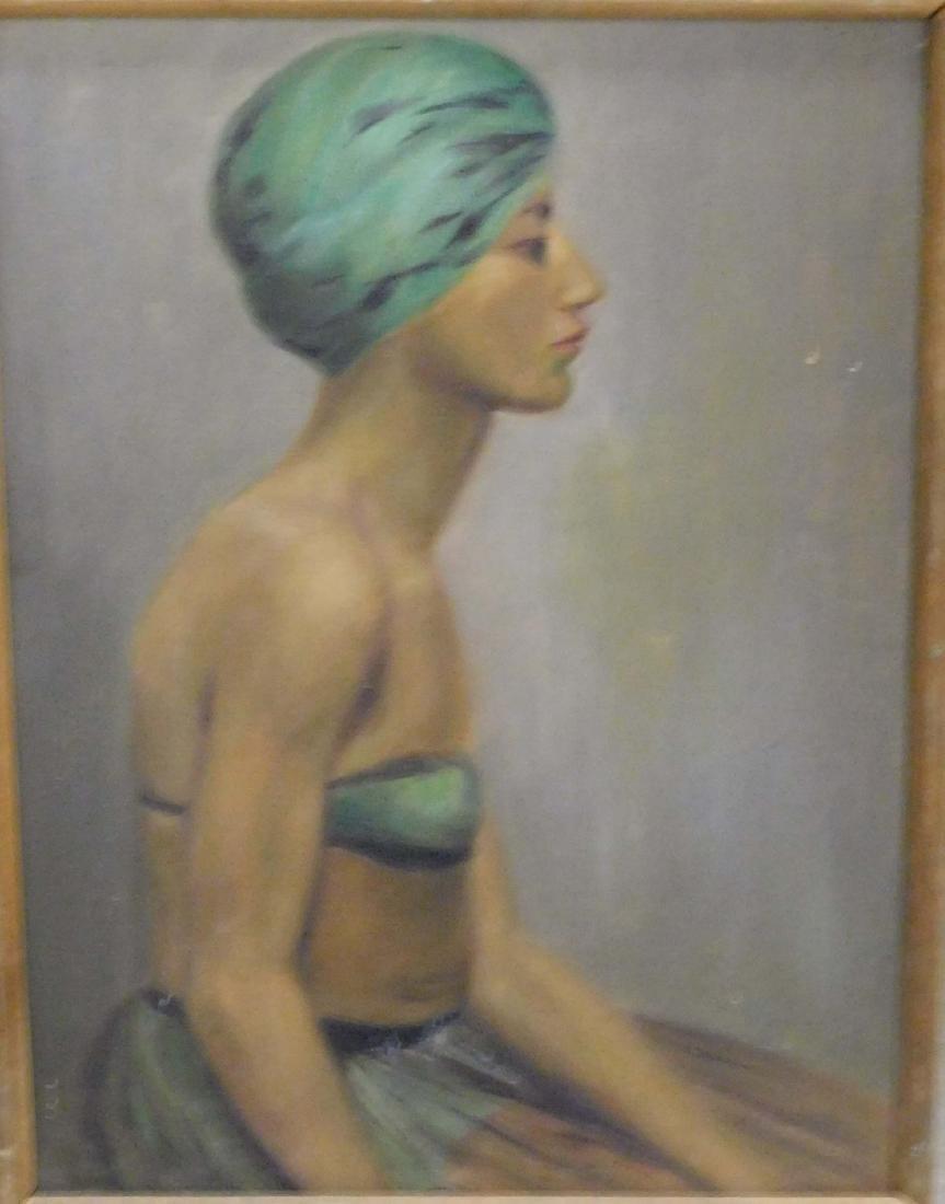 Katherine Worcester (VT 20thc) Four portraits - 4