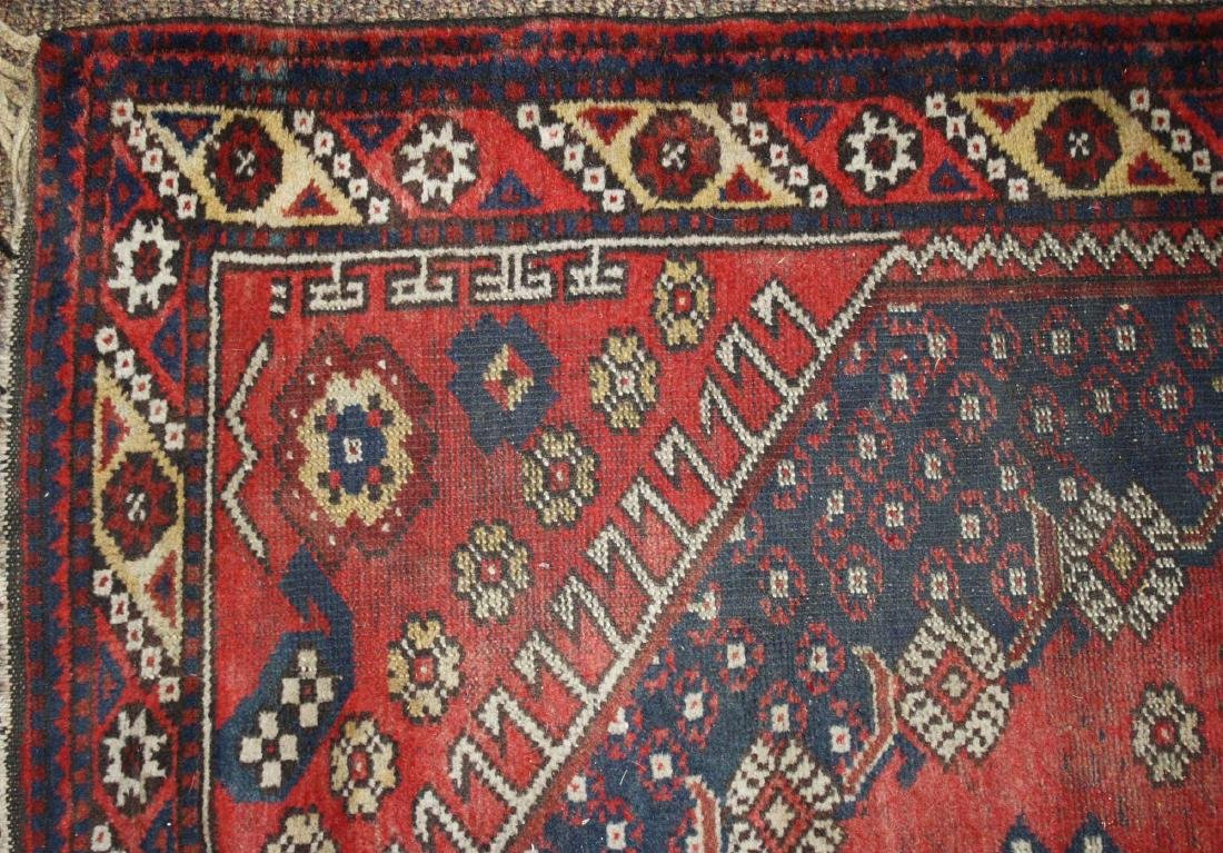 mid 20th c Persian Senna area rug - 3