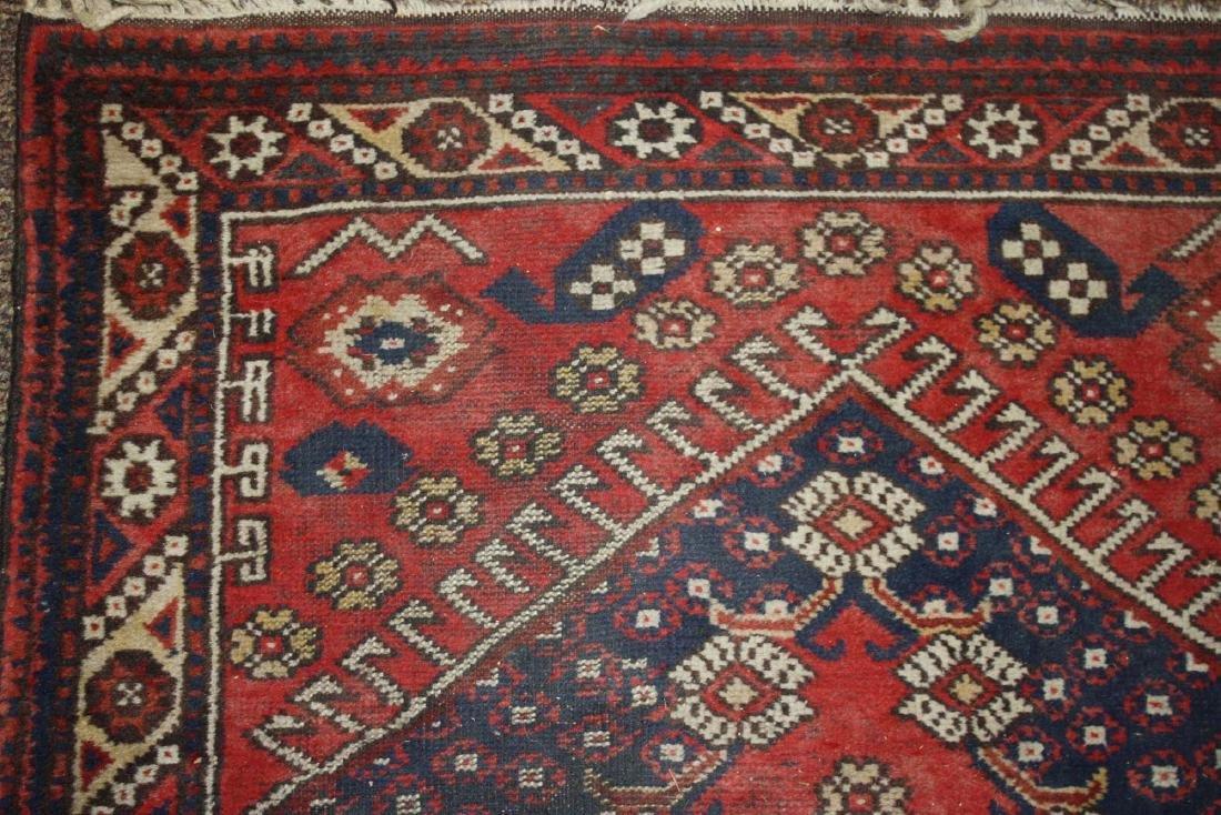 mid 20th c Persian Senna area rug - 4