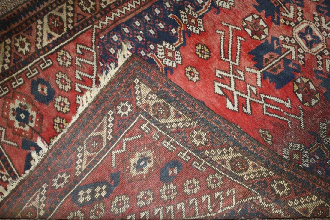 mid 20th c Persian Senna area rug - 5